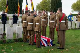 First World War soldier laid to rest after being identified by 'War Detectives'