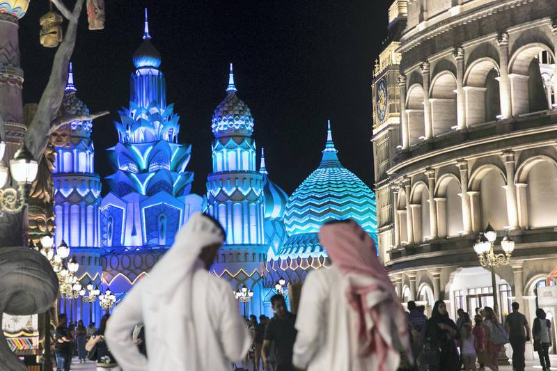 DUBAI, UNITED ARAB EMIRATES - OCTOBER 30, 2018. Global Village opened it's gates today to the public for its 23rd season.(Photo by Reem Mohammed/The National)Reporter: PATRICK RYANSection:  NA