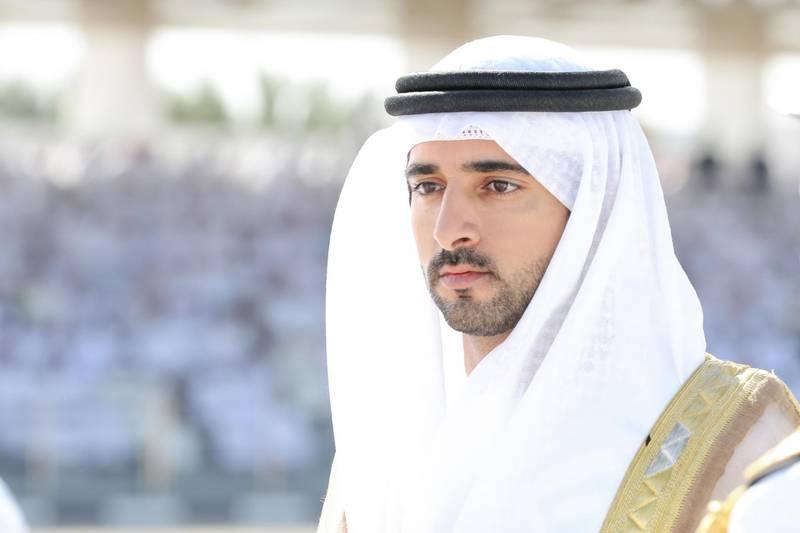 ABU DHABI, 20th March, 2019 (WAM) -- Crown Prince of Dubai Sheikh Hamdan bin Mohammed bin Rashid Al Maktoum has attended today the graduation ceremony of the 19th batch of the Rashid bin Saeed Al Maktoum Naval College in Abu Dhabi. Wam