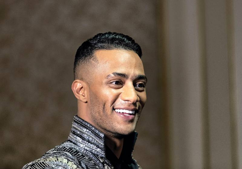 Dubai, United Arab Emirates - Reporter: Saeed Saeed. Arts and Life. Music. Egyptian superstar Mohammed Ramadan, who launches his new single today. Sunday, September 6th, 2020. Dubai. Chris Whiteoak / The National