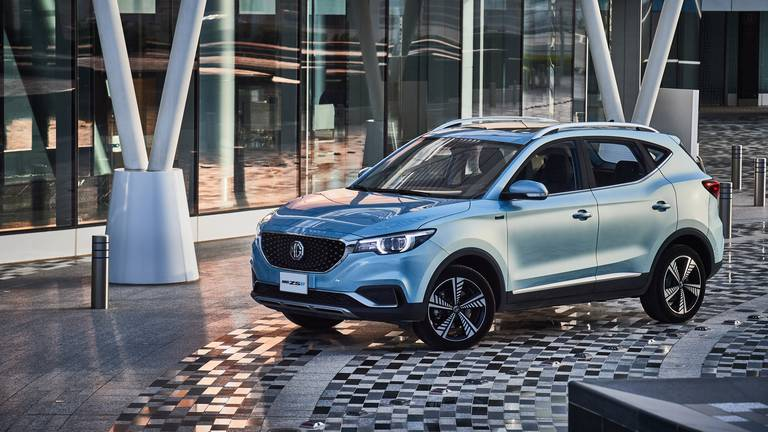 An image that illustrates this article Road test: the MG ZS is the most affordable electric vehicle in the UAE