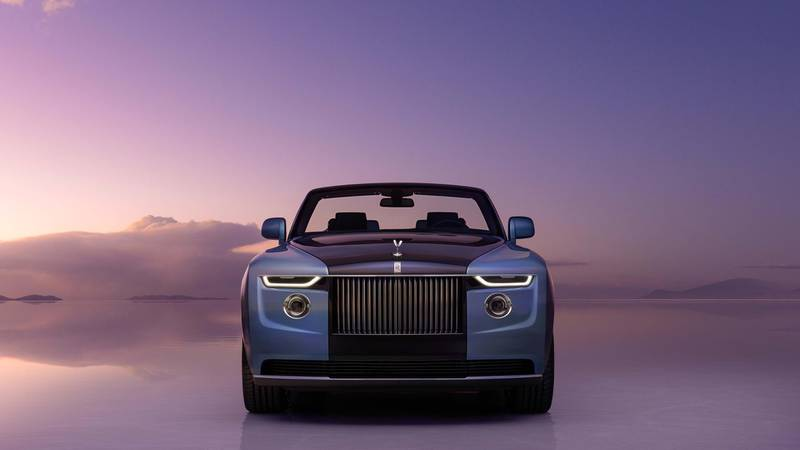Rolls-Royce Boat Tail. Courtesy Rolls-Royce