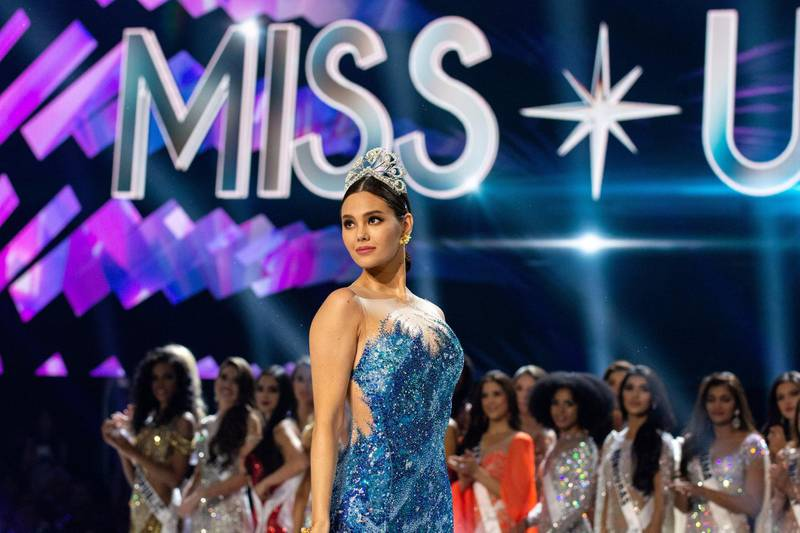Catriona Gray takes her final walk as Miss Universe 2018 during The MISS UNIVERSE® Competition airing on FOX at 7:00 PM ET on Sunday, December 8, 2019 live from Tyler Perry Studios in Atlanta. Contestants from around the globe have spent the last few weeks touring, filming, rehearsing and preparing to compete for the Miss Universe crown. HO/The Miss Universe Organization