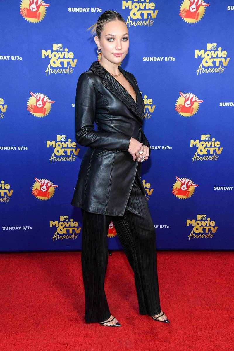 UNSPECIFIED - DECEMBER 6: In this image released on December 6, Maddie Ziegler attends the 2020 MTV Movie & TV Awards: Greatest Of All Time broadcast on December 6, 2020. (Photo by Kevin Mazur/2020 MTV Movie & TV Awards/Getty Images for MTV Communications) (Photo by Kevin Mazur/2020 MTV Movie & TV Awards/Getty Images)
