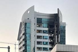 Dubai fire crews tackle early morning blaze in Marina tower