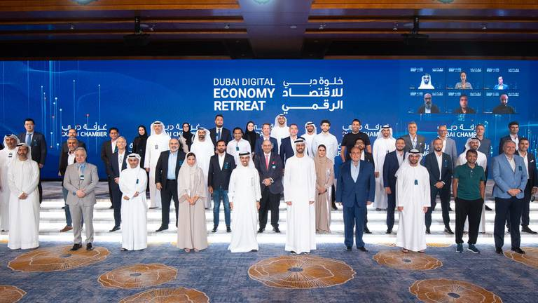 An image that illustrates this article Dubai adopts new action plan to develop digital economy strategy