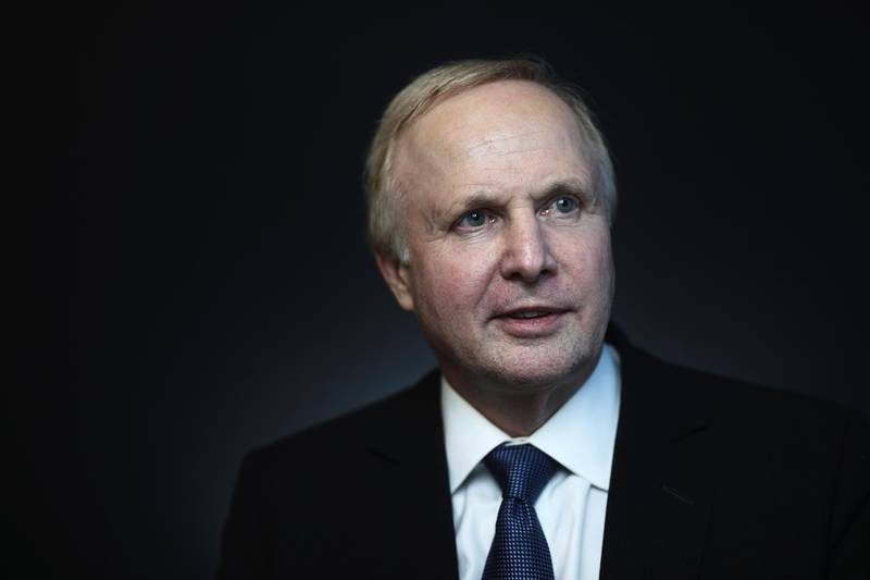 Bob Dudley, chief executive officer of BP Plc, poses for a photograph following a Bloomberg Television interview during the St. Petersburg International Economic Forum (SPIEF) at the Expoforum in Saint Petersburg, Russia, on Thursday, June 1, 2017. The event program is based around the theme 'Achieving a New Balance in the Global Economic Arena' and runs from June 1 - 3. Photographer: Simon Dawson/Bloomberg