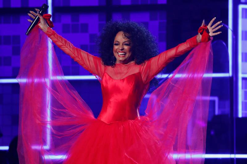 FILE PHOTO: 61st Grammy Awards - Show - Los Angeles, California, U.S., February 10, 2019 - Diana Ross performs. REUTERS/Mike Blake/File Photo