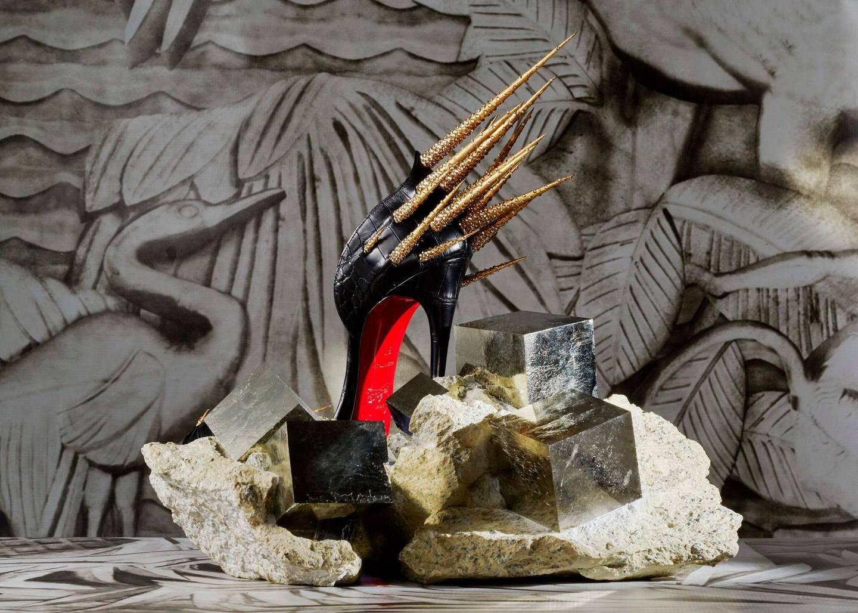 Pyrites + soulier Zuleika - Photo by Jean-Vincent Simonet