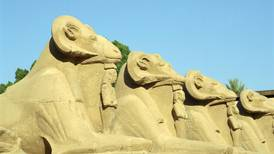 Egypt's plan to move Karnak temple statues causes a stir