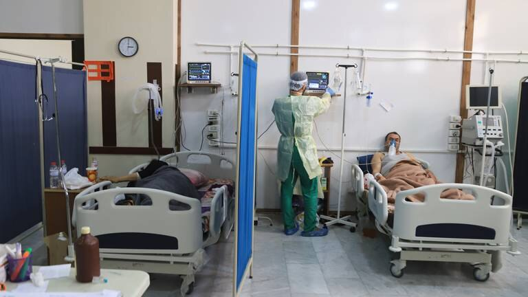An image that illustrates this article Covid-19 pandemic in Idlib, Syria - in pictures