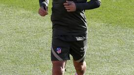 Luis Suarez trains ahead of Atletico Madrid's trip to Champions League title-holders Bayern Munich - in pictures