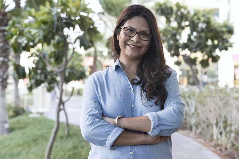 DUBAI, UNITED ARAB EMIRATES. 07 October 2017. Amruta Kshemkalyani, Sustainability Consultant & Founder, www.sustainabilitytribe.com The #ZeroWasteUAE Initiative. (Photo: Antonie Robertson/The National) Journalist: Jessica Hill. Section: National..