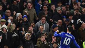 Eden Hazard stars as Chelsea rout Everton and go top – in pictures
