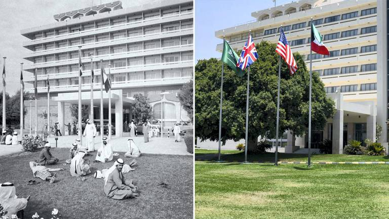 An image that illustrates this article UAE then and now: Hilton, the hotel that brought air-conditioned luxury to the dunes of Al Ain