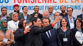 France's Macron pledges to double investment in Tunisia