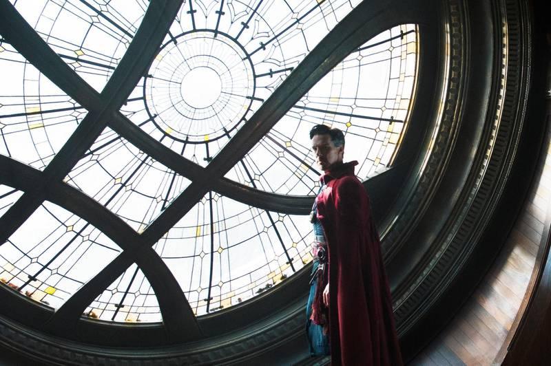 A handout photo of Marvel's Doctor Strange showing Benedict Cumberbatch as Doctor Stephen Strange (Jay Maidment / Marvel) *** Local Caption ***  CM-09805_R_C.jpg