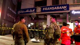 Attackers lob explosive at Lebanon bank amid currency crisis