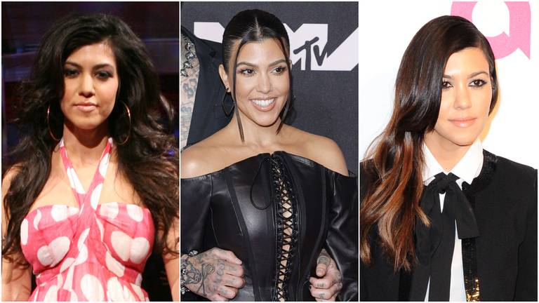 An image that illustrates this article Kourtney Kardashian's style evolution in 33 pictures: reality starlet to Blink-182 bride
