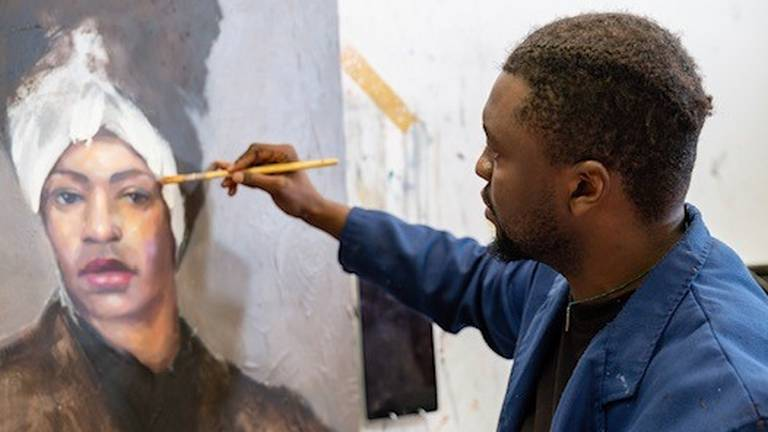 An image that illustrates this article Disabled artists in Dubai say golden visa will make them dream bigger