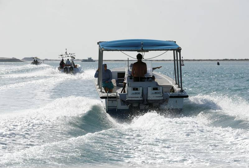 Abu Dhabi, United Arab Emirates - Doubling the price of fines have resulted in fewer boating accidents this past year. Khushnum Bhandari for The National