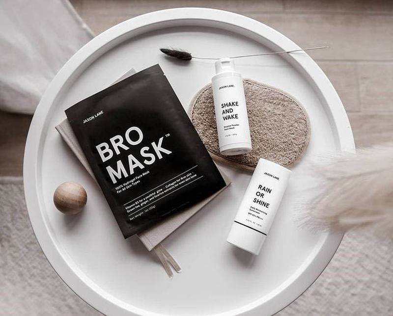 Mens skin care, from Dh60, Jaxon Lane at The Grooming Lab.me