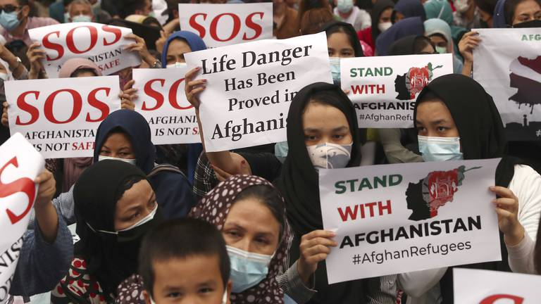 An image that illustrates this article Afghan Hazaras lose homes as persecution grows under Taliban rule