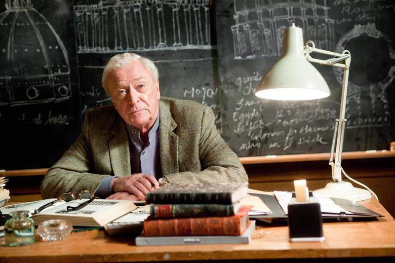 Michael Caine in Inception. Courtesy Warner Bros. Pictures