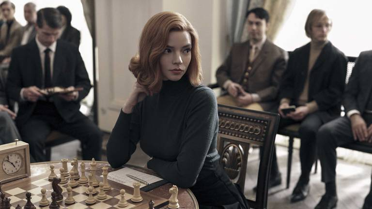 An image that illustrates this article Former chess champion sues Netflix over 'sexist' line in 'The Queen's Gambit'