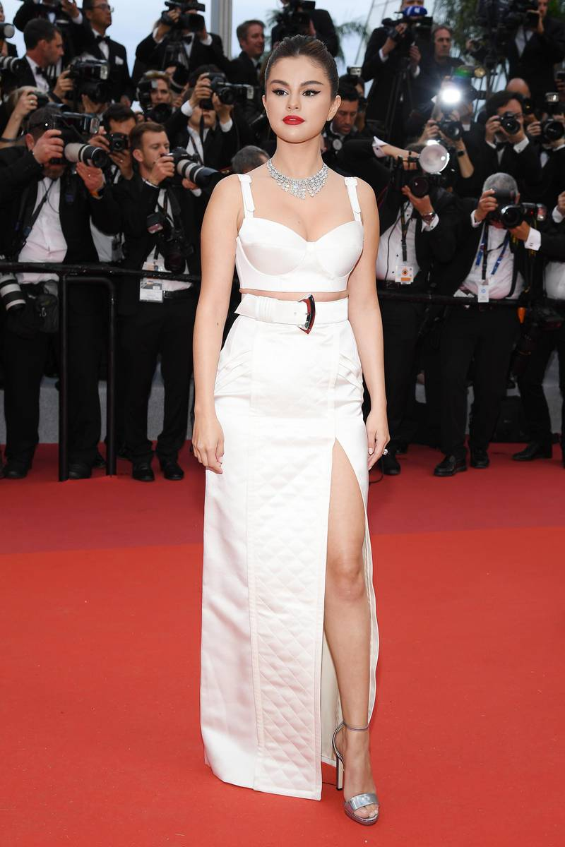 """CANNES, FRANCE - MAY 14: Selena Gomez attends the opening ceremony and screening of """"The Dead Don't Die"""" during the 72nd annual Cannes Film Festival on May 14, 2019 in Cannes, France. (Photo by Pascal Le Segretain/Getty Images)"""