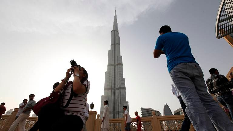 An image that illustrates this article Burj Khalifa is TikTok's most-watched attraction