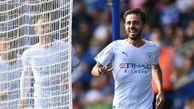 'Exceptional' Bernardo Silva scores winner as Manchester City secure victory at Leicester