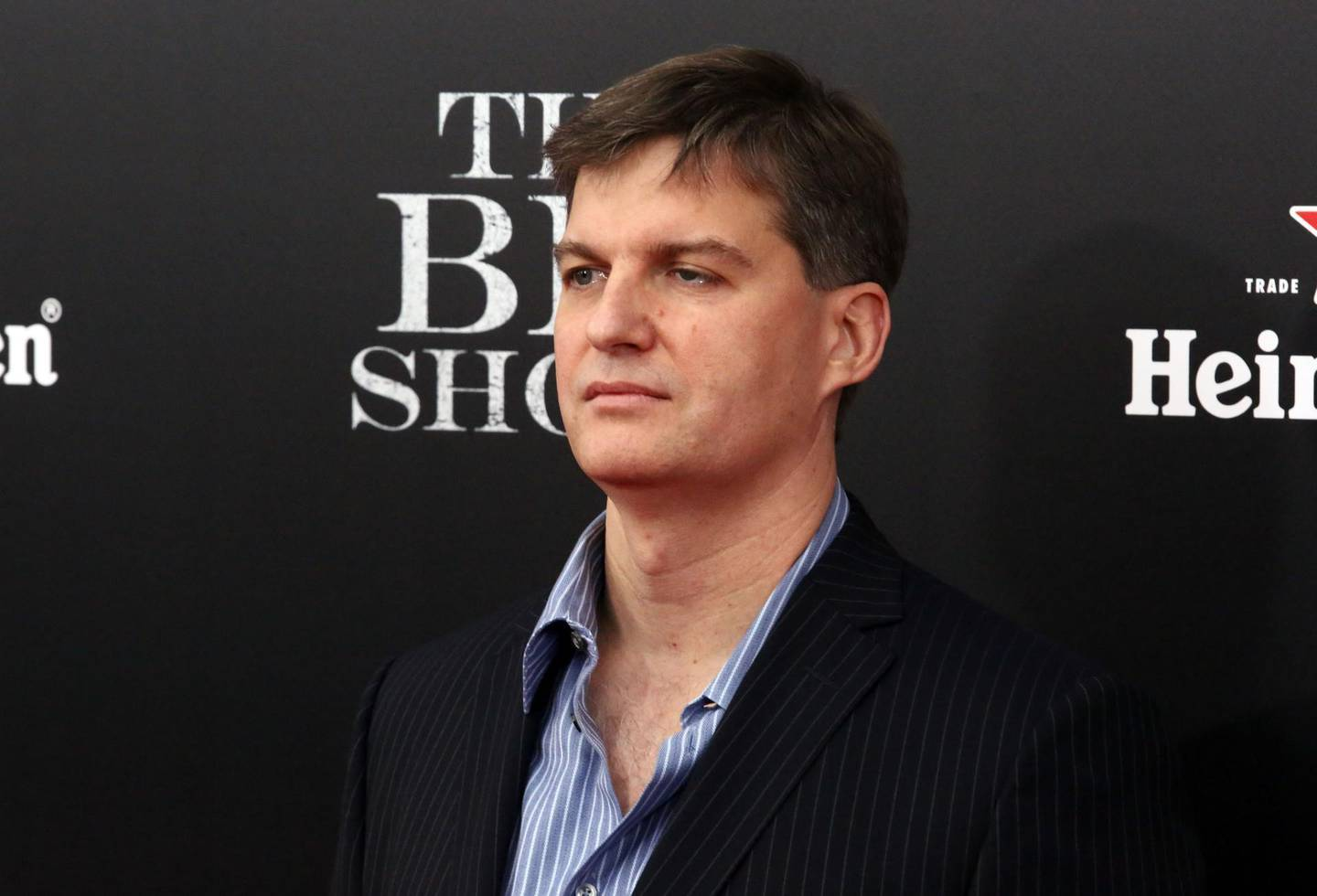 """NEW YORK, NY - NOVEMBER 23: Michael Burry attends """"The Big Short"""" New York screening Ziegfeld Theater on November 23, 2015 in New York City.   Astrid Stawiarz/Getty Images/AFP"""