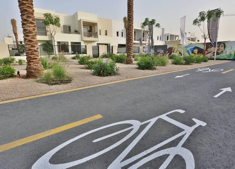 Town Square project by Nshama at Al Qudra area in Dubai.   Courtesy Nshama *** Local Caption ***  bz01ap-Nshama-11.jpg