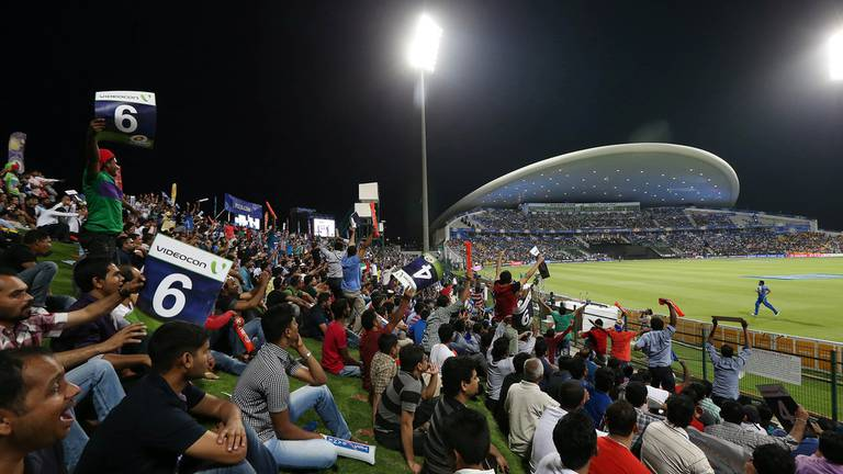An image that illustrates this article UAE helps get IPL back on the road - and fans will only add to the spectacle