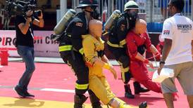 UAE World Firefighter Challenge kicks off in Abu Dhabi - in pictures