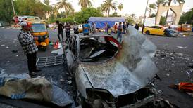 Two killed in first bomb attack on Baghdad protesters