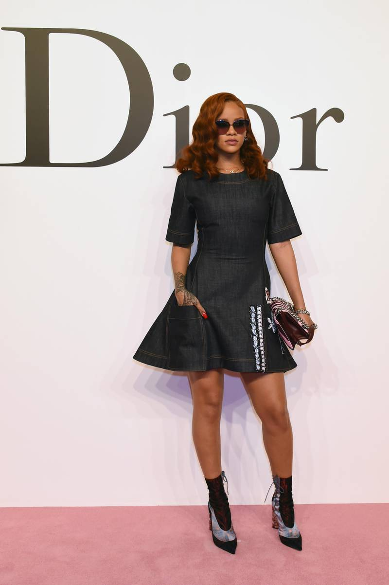 TOKYO, JAPAN - JUNE 16:  Rihanna arrives at the Christian Dior TOKYO Autumn/Winter 2015-16 Ready-To-Wear Show at The National Art Center Tokyo on June 16, 2015 in Tokyo, Japan.  (Photo by Jun Sato/Getty Images for Dior)
