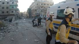 Idlib shelling at school drop-off witnessed by doctors