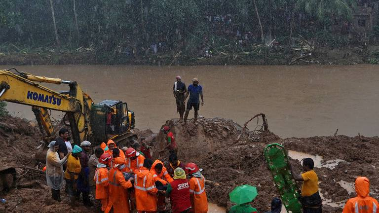 An image that illustrates this article Floods and landslides kill dozens in India's Kerala
