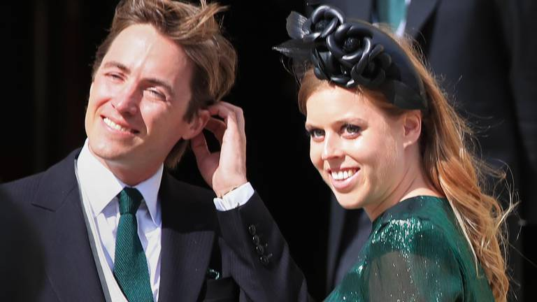 An image that illustrates this article Britain's Princess Beatrice gives birth to daughter