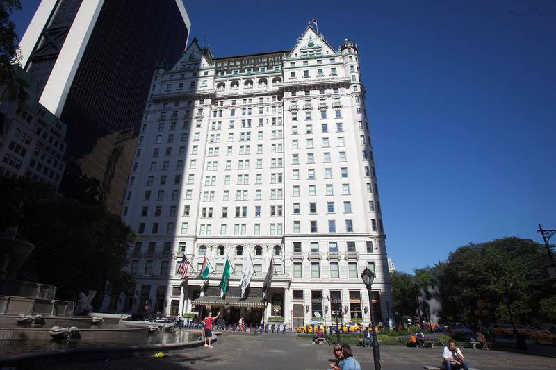 A general view of the Plaza Hotel in New York, New York, U.S. August 18, 2014.  REUTERS/Carlo Allegri/File Photo - TM3EC7C194001