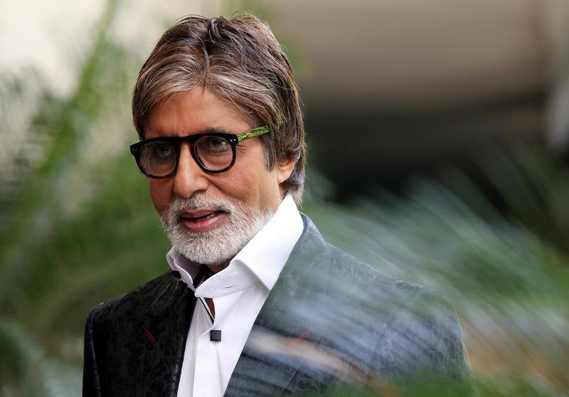 epa06243512 (FILE) Bollywood actor Amitabh Bachchan attends a photocall in New Delhi, India, 21 August 2013 (reissued 04 October  2017). Amitabh Bachchan will celebrate his 75th birthday on 11 October 2017.  EPA/MONEY SHARMA