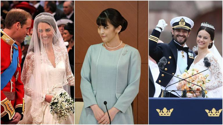 An image that illustrates this article Royals who married commoners: from Sweden's Prince Carl Philip to Princess Mako