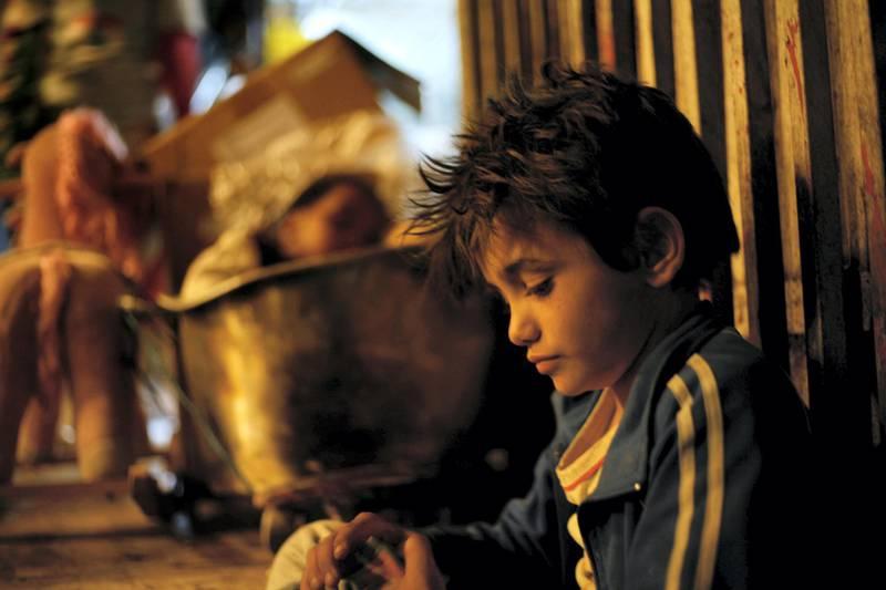 Zain Al Rafeea as Zain in Capernaum. Photo by Fares Sokhon, Courtesy of Sony Pictures Classics