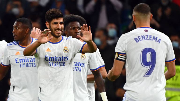 An image that illustrates this article Asensio and Benzema help Real Madrid hit Mallorca for six