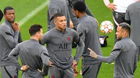 Messi, Mbappe and Neymar train for Champions League opener - in pictures