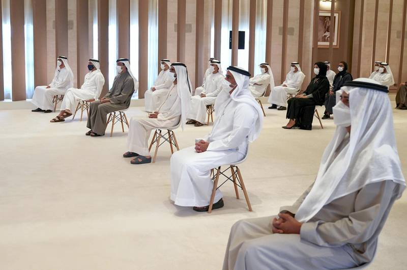 """ABU DHABI, 22nd March, 2021 (WAM) --  Sheikh Mohammed bin Rashid, Vice President and Prime Minister of UAE and Ruler of Dubai, launched the Industrial Strategy """"Operation 300bn"""". Wam"""