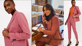 Steal Kate Middleton's working from home style with Marks and Spencer pink power suit