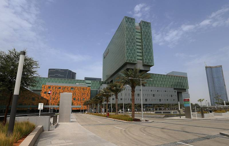 ABU DHABI - UNITED ARAB EMIRATES - 17MAR2015 - Cleveland Clinic Abu Dhabi is a multi specialty medical center located on Al Maryah Island in Abu Dhabi. Ravindranath K / The National (to go with Jennifer Bell story for News)  *** Local Caption ***  RK1703-ClevelandClinic02.jpg